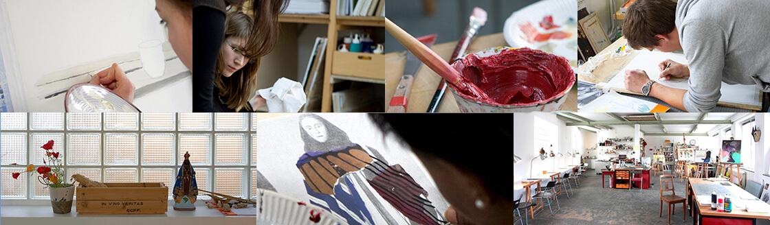 Zeichenzimmer schule f r malerei und grafik in hamburg for Schule fur kunst und design